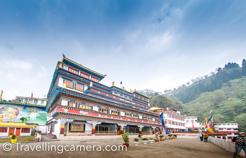 Before heading back to Darjeeling Railway station, our halt was planned at Dali Monastery. A beautiful place and also has a cafeteria. We enjoyed chhole puri her and it was awesome. If you have tike to visit Dali Monastery, do visit their cafe and have something here.