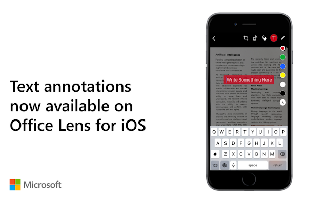 مايكروسوفت تعلن عن مزايا جديدة في Office Lens على اندرويد و iOS