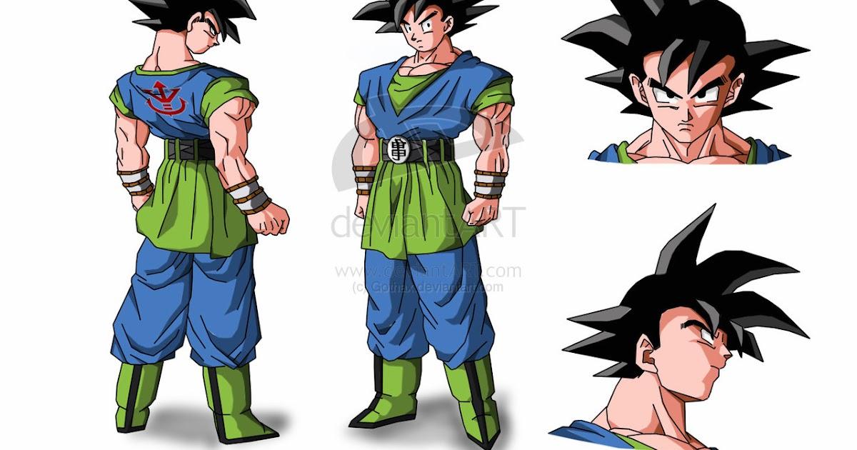 Ver Imagenes De Goku En Todas Sus Fases: Dragon Ball AF: Goku En Todas Sus Fases AF