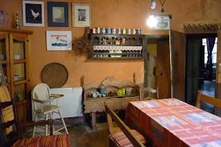 Antigua cocina, Hotel Digoine.