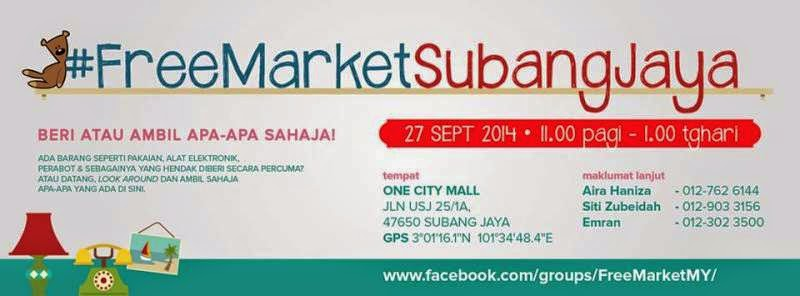FreeMarket Bakal Berlangsung Sepanjang September 2014
