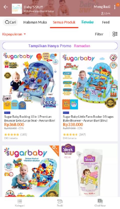Baby'S Stuff Sebagai Toko Peralatan Bayi Terlaris di Lazada