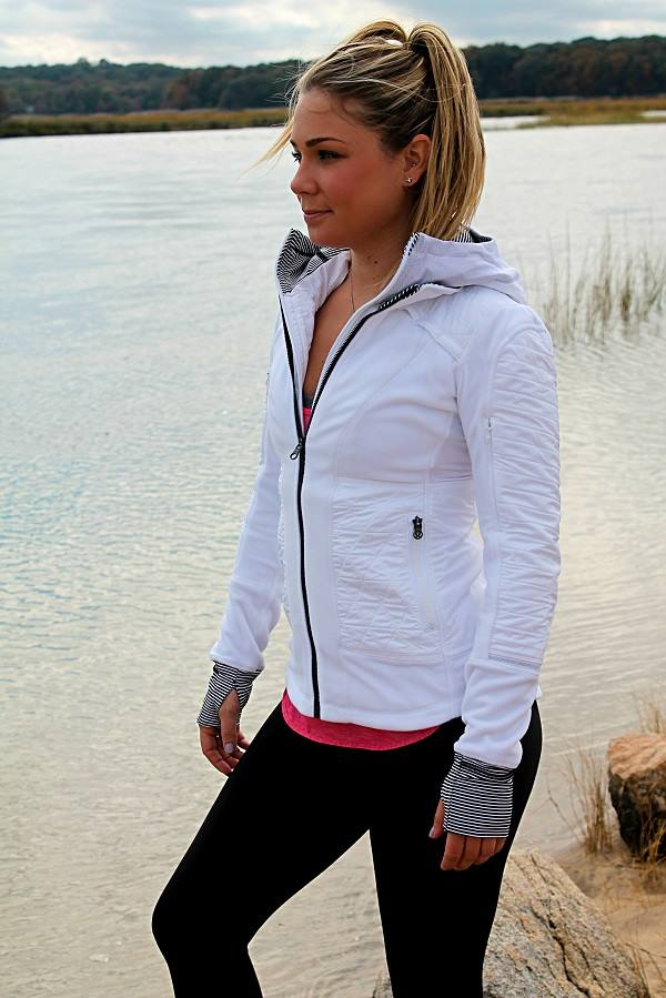 lululemon fleecy-keen-jacket white
