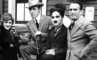D. W. Griffith, Charlie Chaplin, Mary Pickford y Douglas Fairbanks
