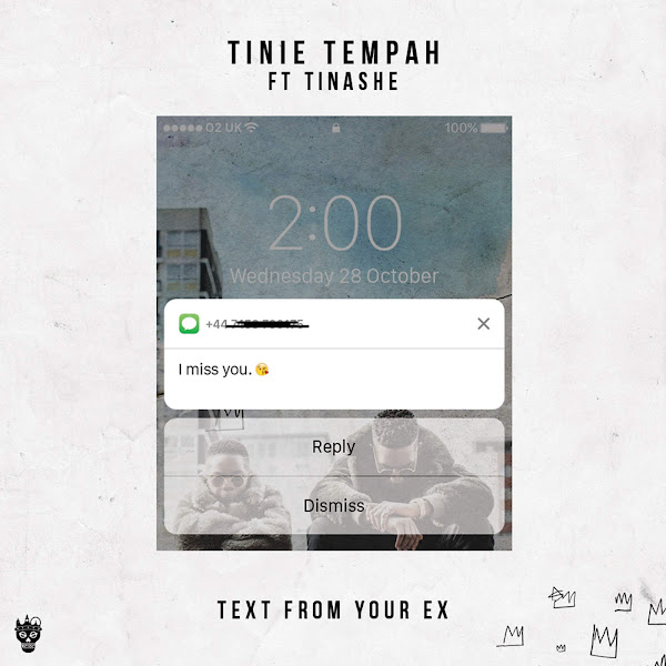 Tinie Tempah - Text fom Your Ex (feat. Tinashe) - Single Cover