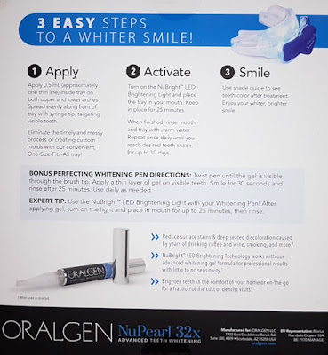 Oralgen NuPearl 32x Advanced Teeth Whitening Kit