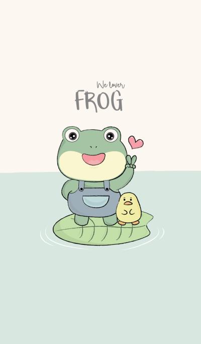 We love Frog
