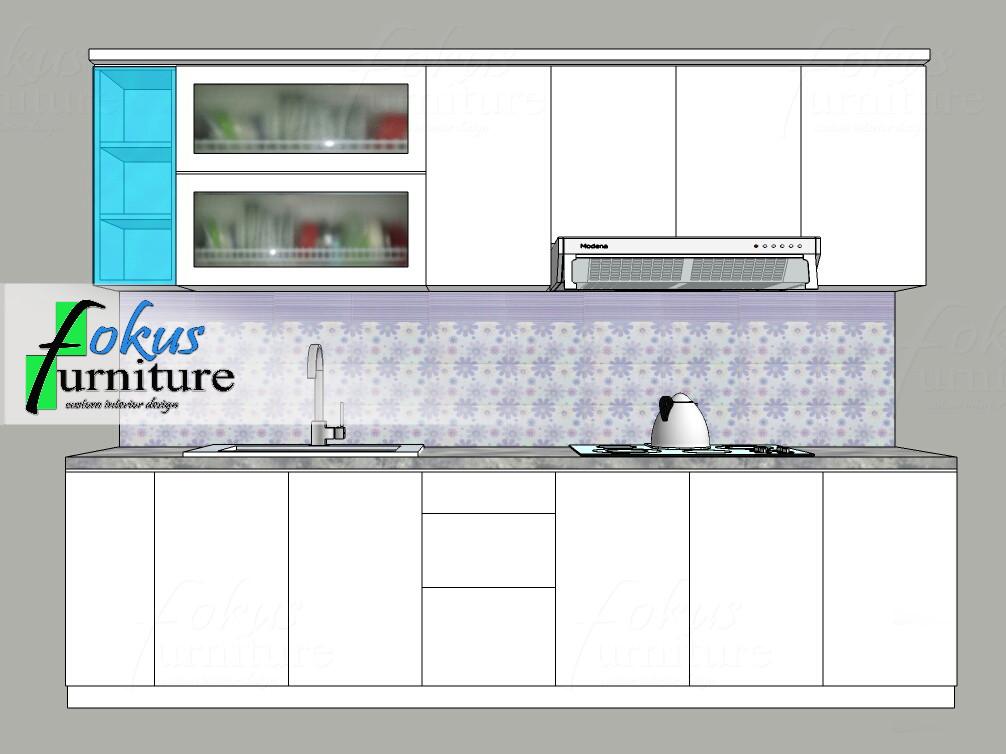 Contoh Gambar Desain Kitchen Set Furniture Kitchen Set Minimalis