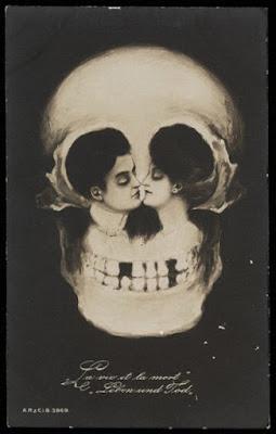 Victorian Metamorphic postcard