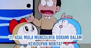 Asal Mula Munculnya Dorami Dalam Kehidupan Nobita?