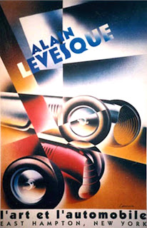 l'art et l'automobile large poster by Alain  Lévesque. available at arteauto.com