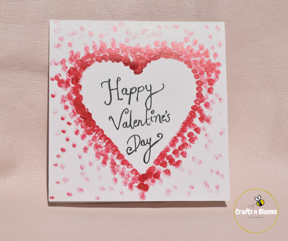 Urban gardens and crafts diy ideas for valentines day handmade cards these are very simple card ideas and you dont need lot of craft stuff to make these all you need is greeting card stock colour craft papers m4hsunfo