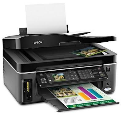 Epson WorkForce 615 Printer Driver Download