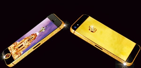 Smartphone termahal di dunia iPhone 5 Black Diamond