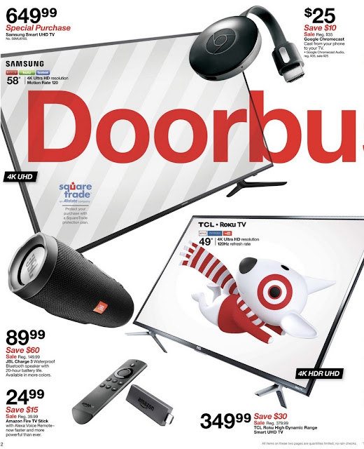 Target Black Friday 2017 Ad Flyer
