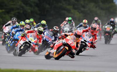 MotoGP Silverstrone Inggris Minggu 4 September 2016