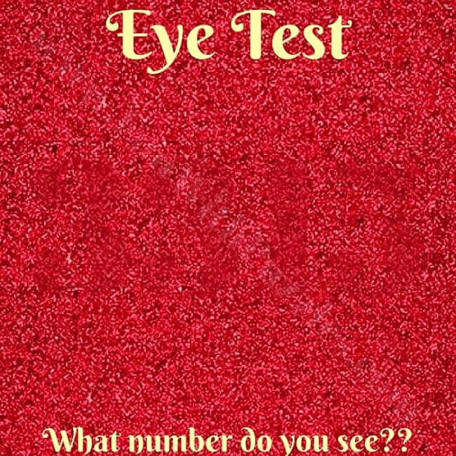 Eye Test What Number Do You See How many 3's can you see in the mobile screenshot below. eye test what number do you see