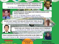 Seminar Nasional Kesehatan Haji 2018 - Malang, 28 April 2018