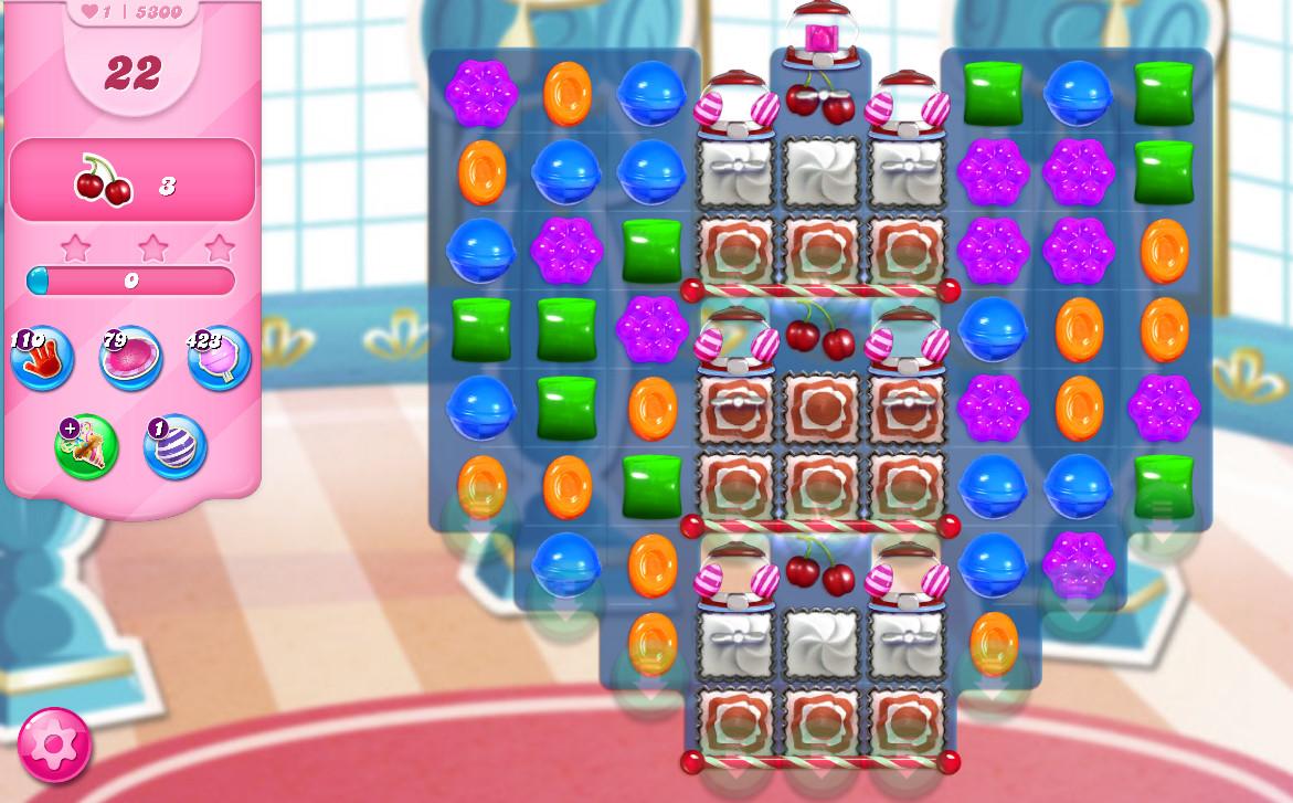 Candy Crush Saga level 5300