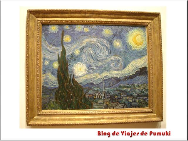 El Cielo Estrellado de Vincent van Gogh en el MoMA de Nueva York
