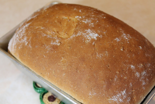 Baked Honey-Oat Bread