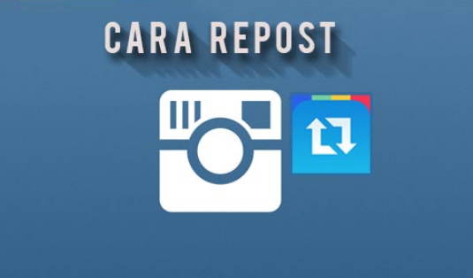 Cara Repost di Instagram