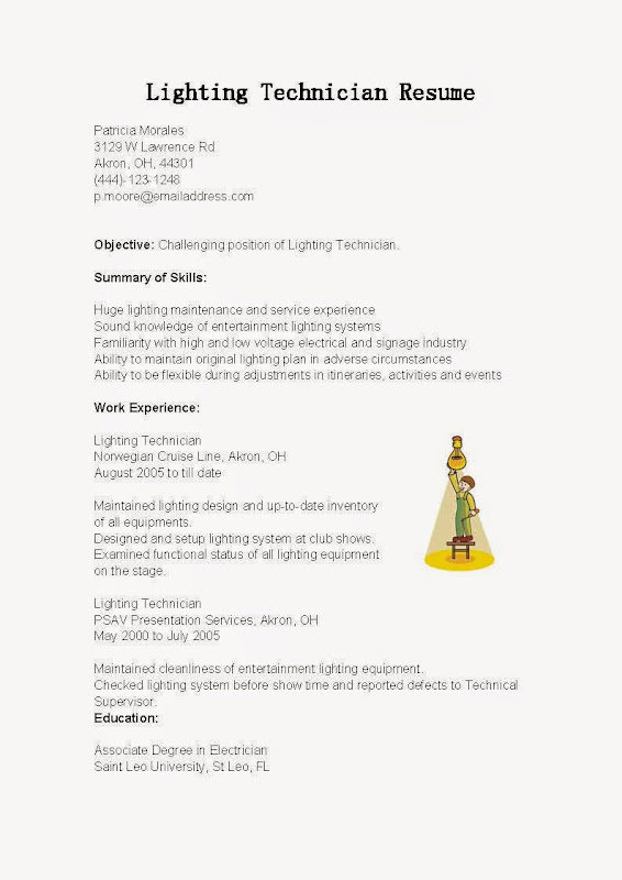Awesome Light Technician Cover Letter Medical Administrative Cover Letter