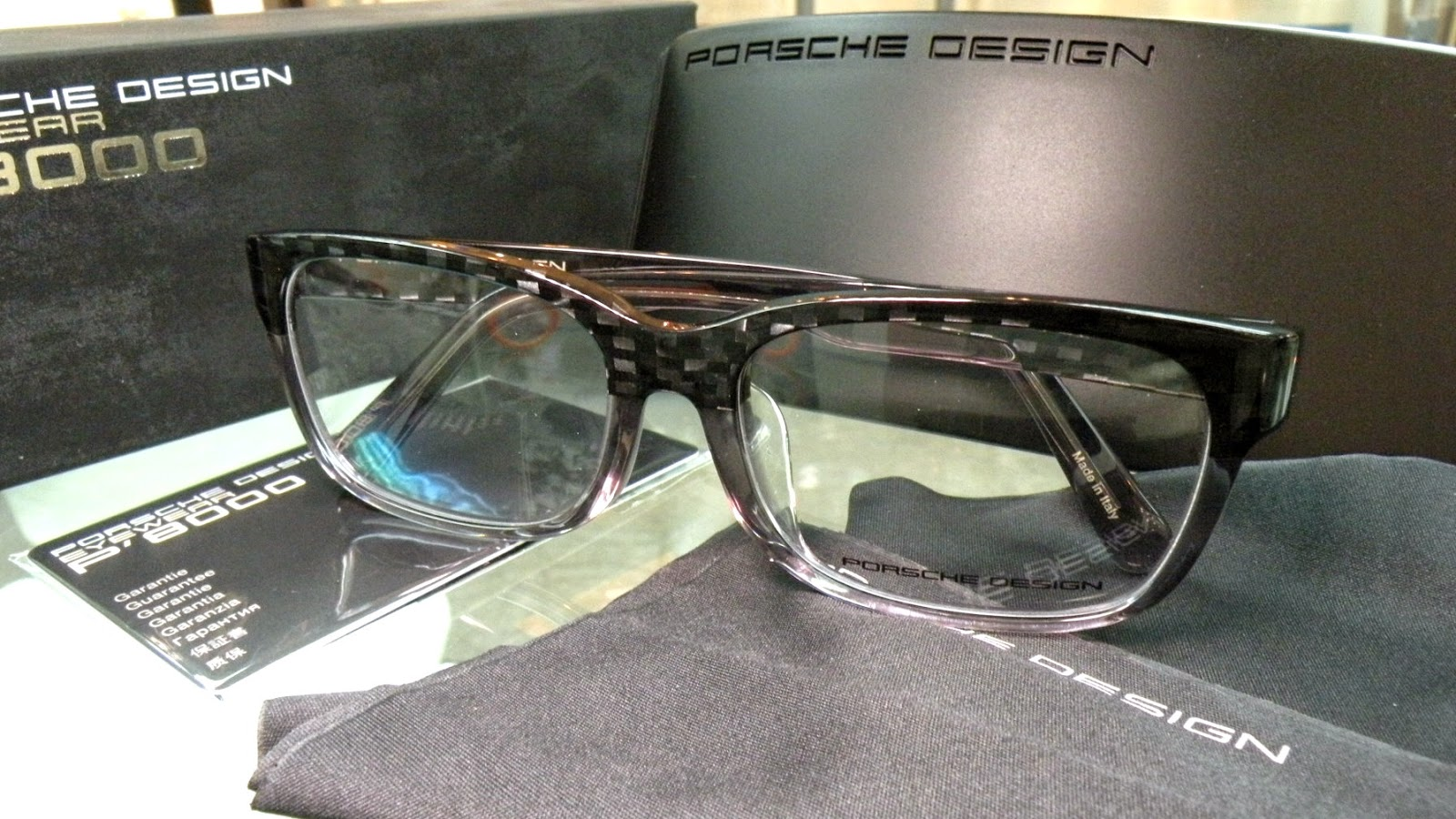 Porsche Design eyewear asian fit P8707