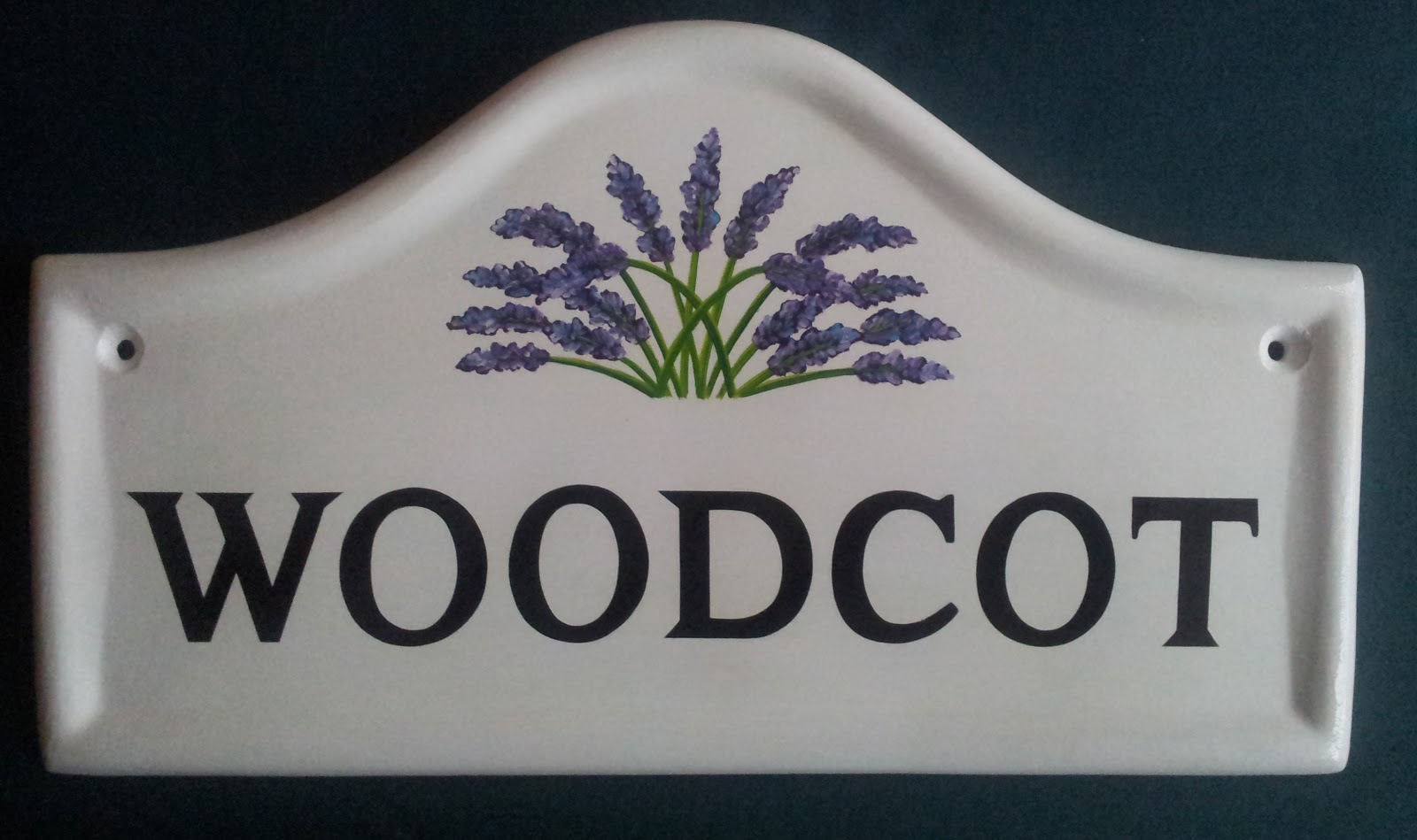 hand painted house signs by ceramic art november 2012. Black Bedroom Furniture Sets. Home Design Ideas