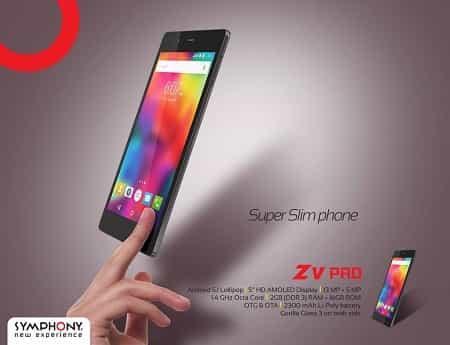 Symphony Xplorer Z5 Pro Flagship Smartphone