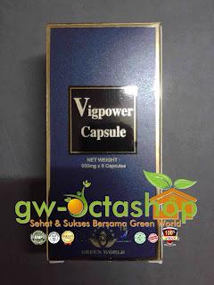 Green World Vig Power Capsule isi 6 Kapsul