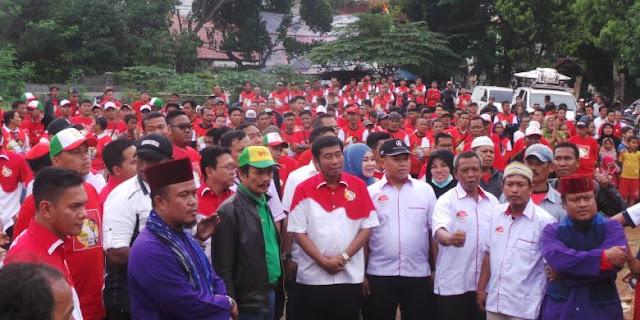 """Lulung Tidak Didukung Partainya, Relawan """"Suka Haji Lulung"""": kita tetap dukung Haji Lulung!"""