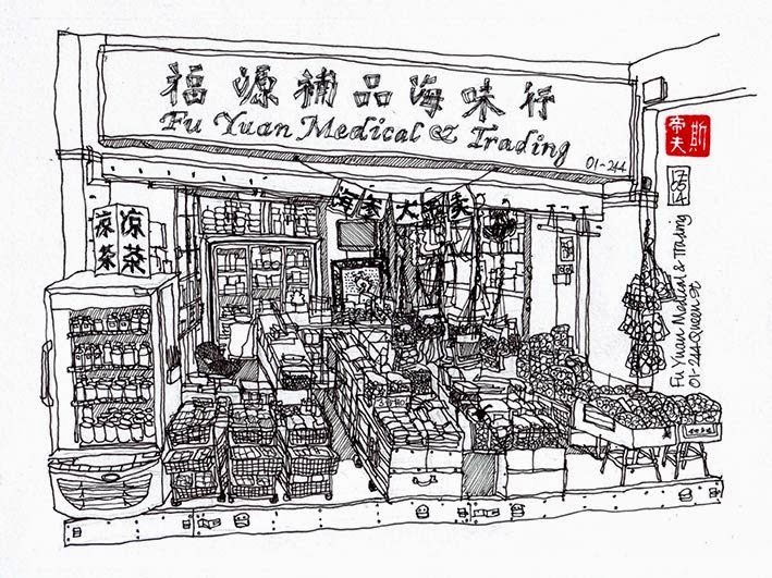 Fu Yuan Medical & Trading sketch