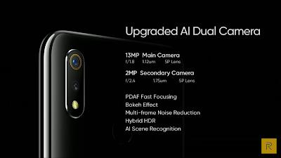 Realme 3 Phone Rear Camera Details
