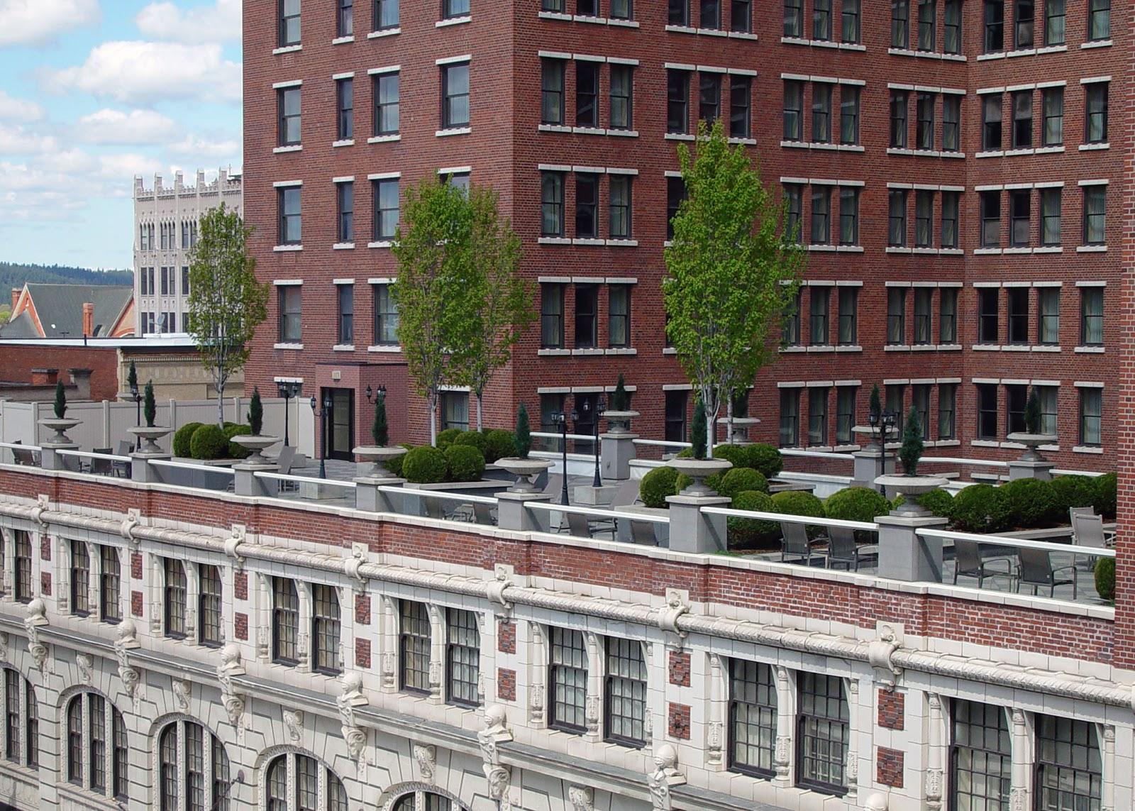 Eden By The Bay Davenport Hotel The Garden Terrace