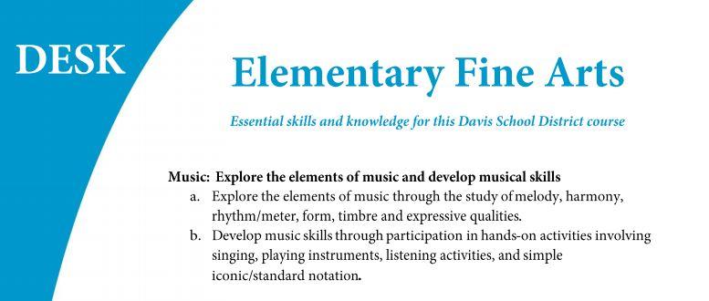 Davis Fine Arts: Elements of Music