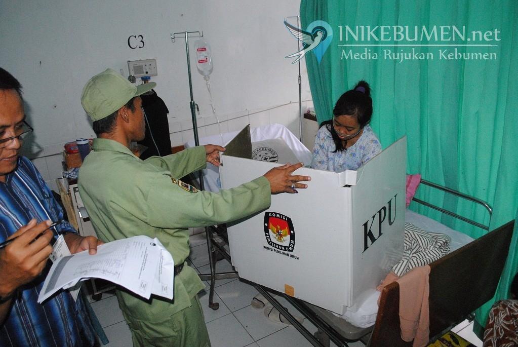 Pemilu 2019, Pemilih di Kecamatan Kebumen Jumlahnya Hampir Sama di 6 Kecamatan Lain