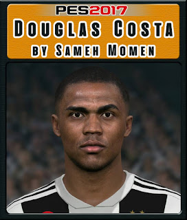 PES 2017 Faces Douglas Costa by Sameh Momen