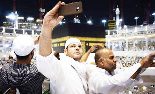 Pengelola Masjidil Haram Larang Jamaah Foto Selfie