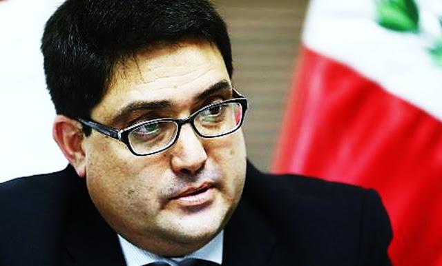 El procurador especial del caso Odebrecht, Jorge Ramírez