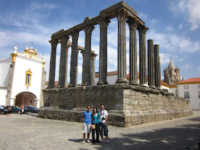 Roman Temple in Évora
