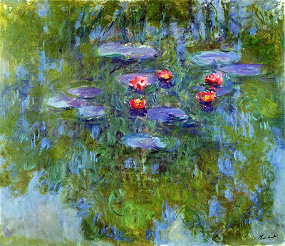 Claude Monet - waterlillies 1919.