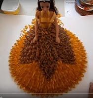 DIY Fita Decorativa - Passo a Passo PAP - Boneca Com Fita Decorativa em Vídeo