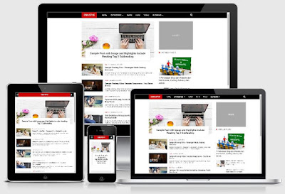 CNN Syle Blogger Template