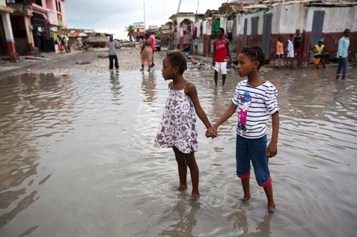Taufan Matthew, Haiti