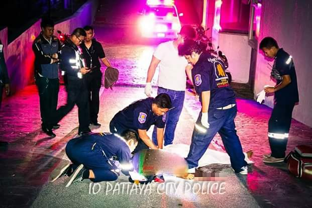 Photos: Young woman falls to her death from 5th floor of a condominium while having balcony sex with British tourist in Thailand