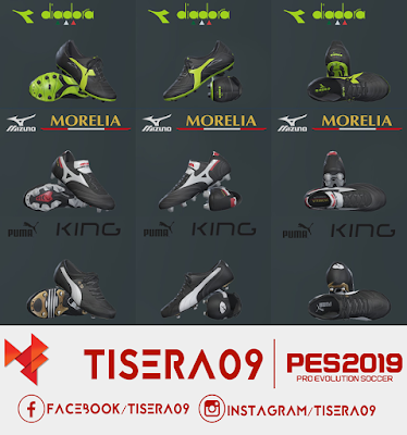 PES 2019 / PES 2018 Classic Boots Pack Part 1 by Tisera09