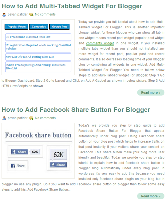 How to Add Post Thumbnails for Blogger