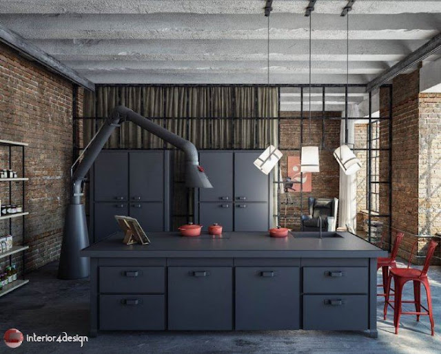 Industrial Style Decor 16