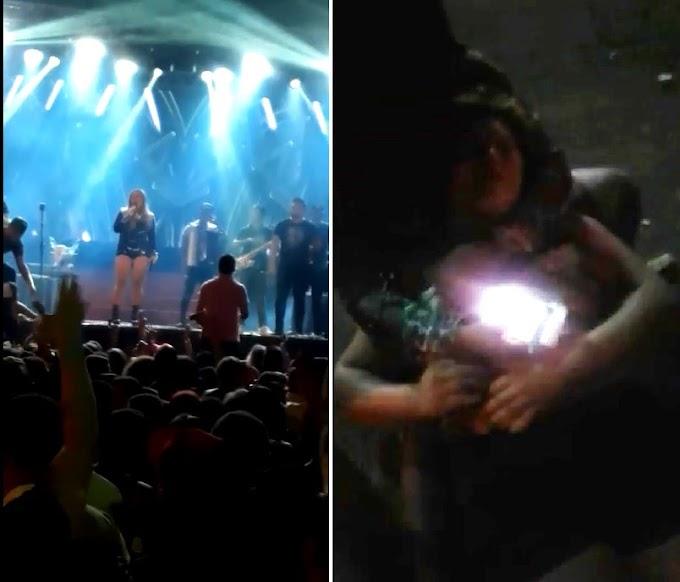 MARANHÃO: Show de Márcia Felipe em Bacabal acaba antes do tempo e em confusão